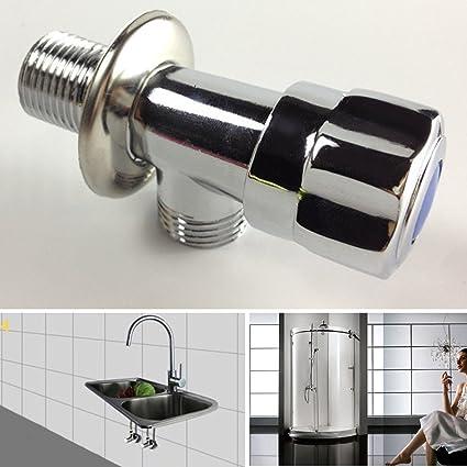 Triangular Diverter Valve Universal Threaded Faucets Toilet Heater