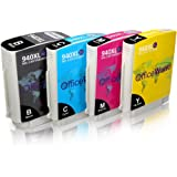 OfficeWorld Compatible Ink Cartridges Replacement for 940XL Ink Cartridges High Yield Compatible for Officejet Pro 8000 8500 A909A 8500A A910A