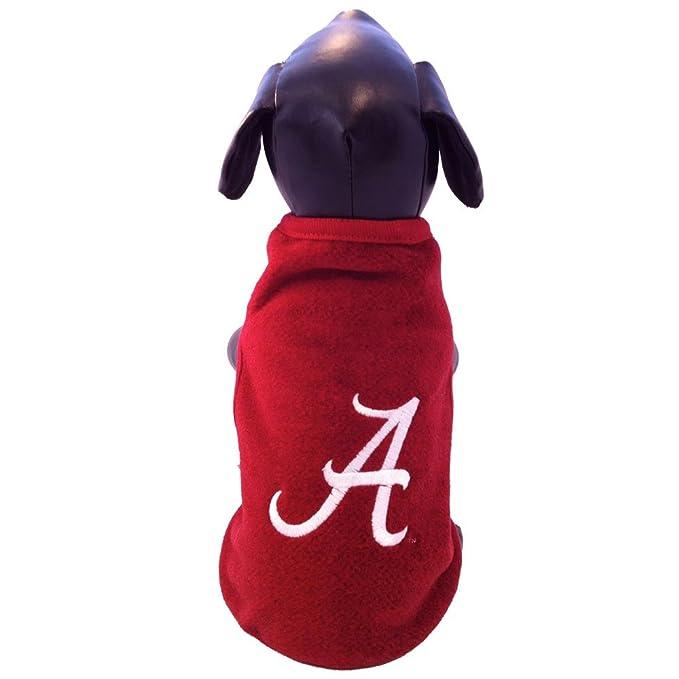 official photos c4572 515b2 NCAA Alabama Crimson Tide Polar Fleece Dog Sweatshirt
