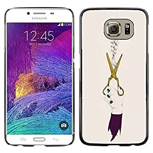 Plastic Shell Protective Case Cover || Samsung Galaxy S6 SM-G920 || Clothing Dress Fashion @XPTECH