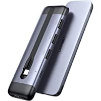 UGREEN USB C Hub with 4K HDMI, Aluminum 5-in-1 Type C OTG Hub Multiport Adapter, Thunderbolt 3 Dock with 3 USB 3.0 Ports…