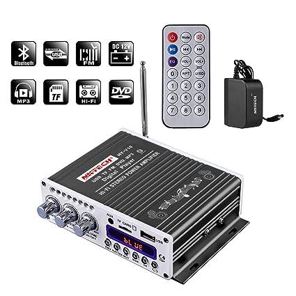 Amazon.com  NKTECH 3A Power Adapter HY-V10 FM MP3 USB TF DVD Audio ... c62432f3b25e5