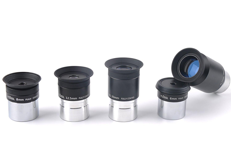 /Juego de oculares Telescopio Plossl con 2/X Lente Barlow etc. solomark Kit de accesorios de telescopio/ juego de filtros