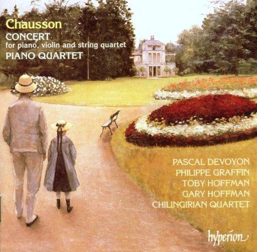 Chausson: Concert for Piano, Violin, and String Quartet / Piano Quartet Import Edition (1997) Audio CD