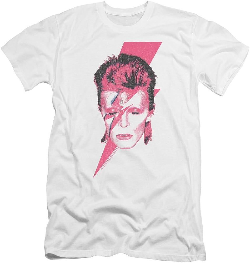 David Bowie Original Art T-Shirt Premium Cotton Rock Tee