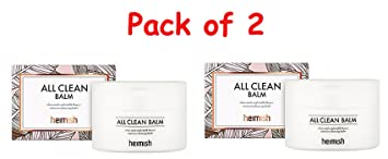 (6 Pack) HEIMISH All clean Balm Acne Free Therapeutic Sulfur Mask With Vitamin C and Copper -1.7 oz, 3 Pack