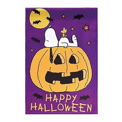 Ordinaire Peanuts Happy Halloween Garden Flag 12inX18in