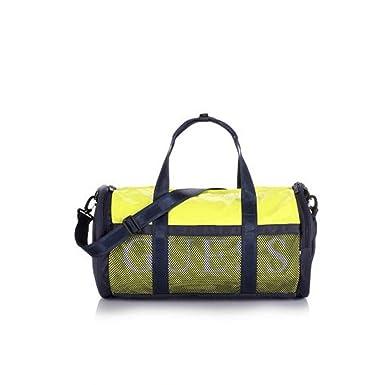 33402cef1 Guess Sac de sport -plage jaune: Amazon.fr: Vêtements et accessoires