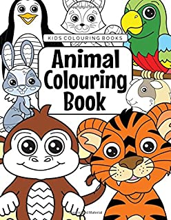 86 Animals Colouring Coloring Book Free Images
