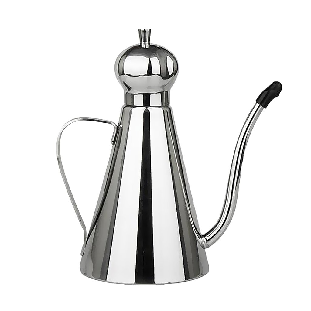 MagiDeal Stainless Steel Olive Oil Pourer Dispenser Cooking Oil Jar Can Bottle 600ml/1000ml - 600ml AEQW-WER-AW136846