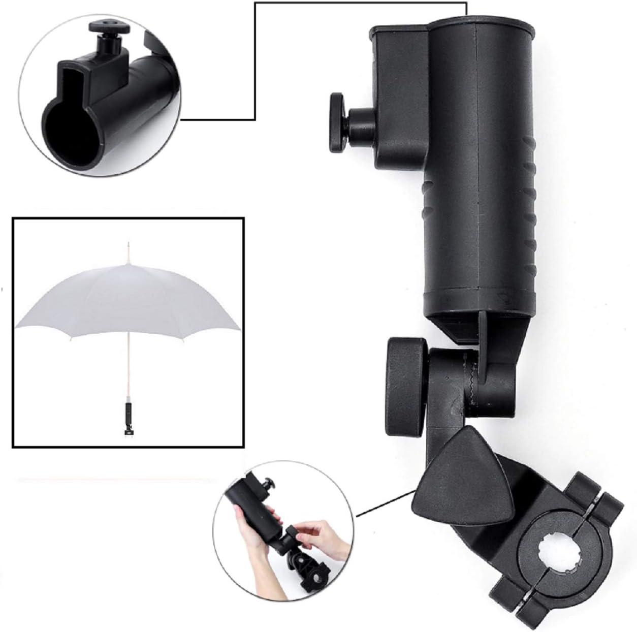 LL-Golf Universal Soporte para Paraguas V2 para Silla/Andador/Carrito/Paraguas Soporte/Umbrella Holder
