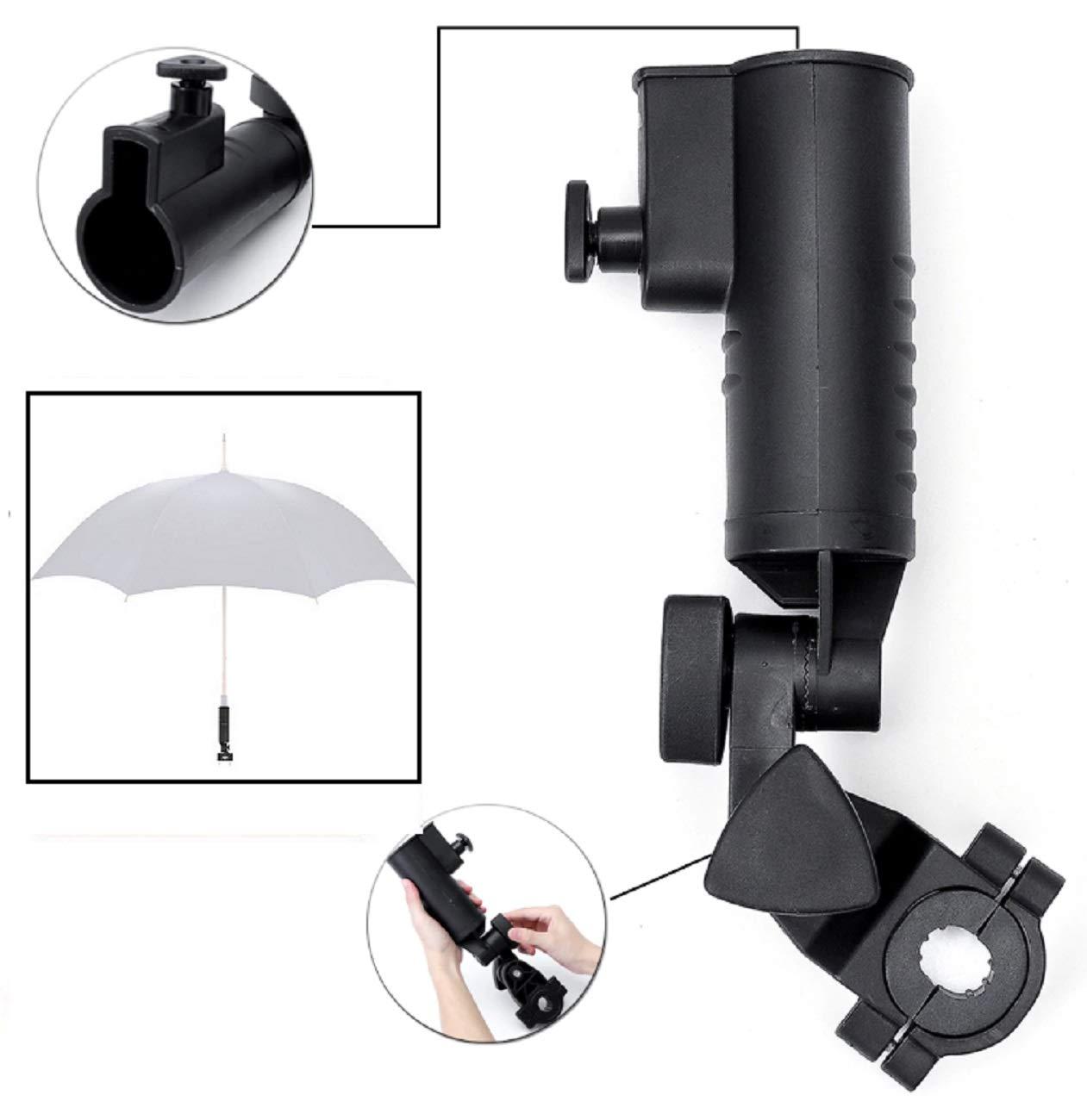 LL-Golf Universal Soporte para Paraguas V2 para Silla/Andador ...