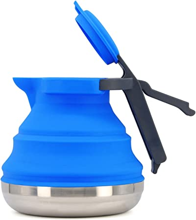 Collapsible Camping Kettle - 42 Ounce Capacity