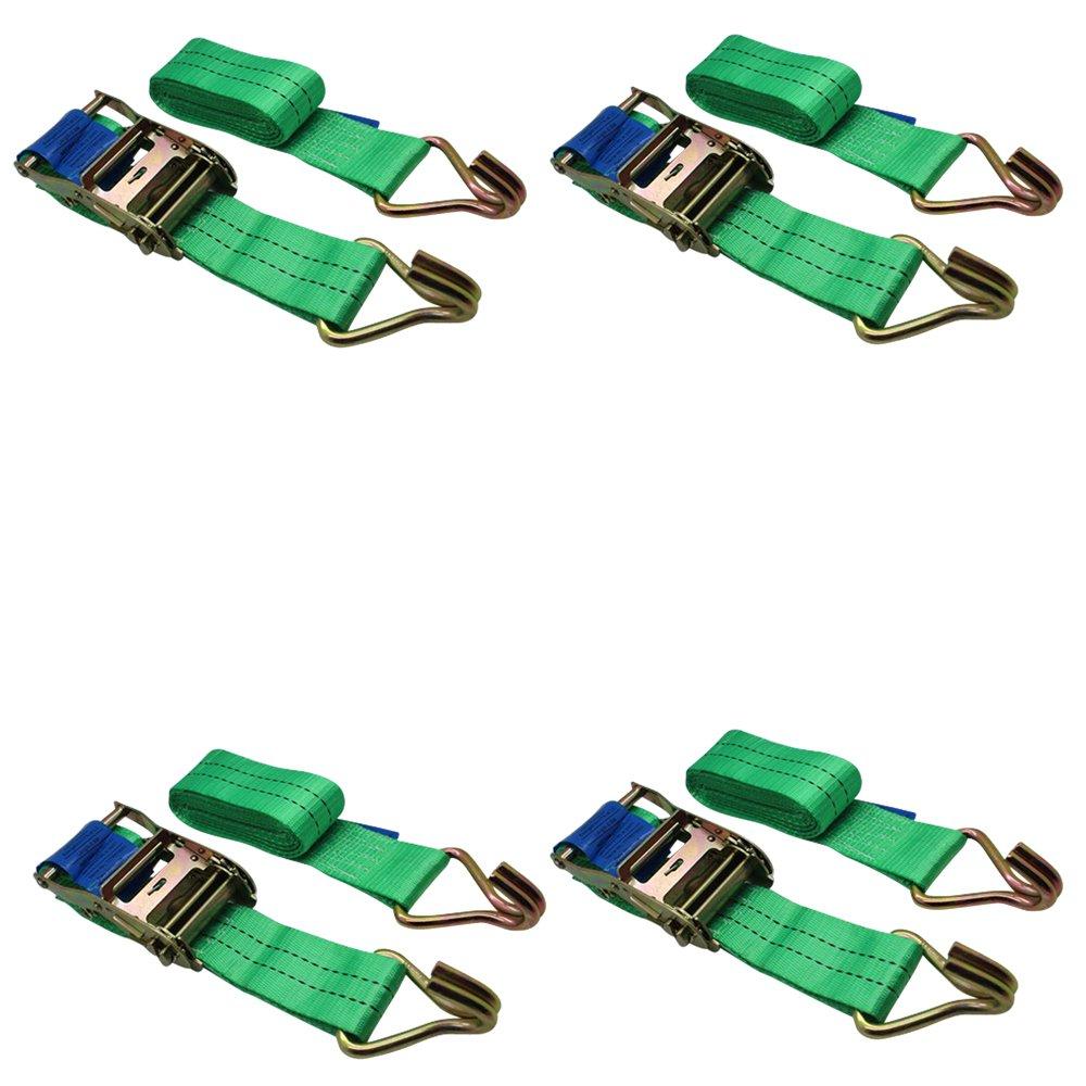 colore verde per rimorchio carico resistente verde con impugnatura in gomma Ratchoox cricchetto 2T