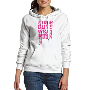 Wylwy 02 Ladies Tough Guys Wear Pink Ribbon Junior Graphic Adult