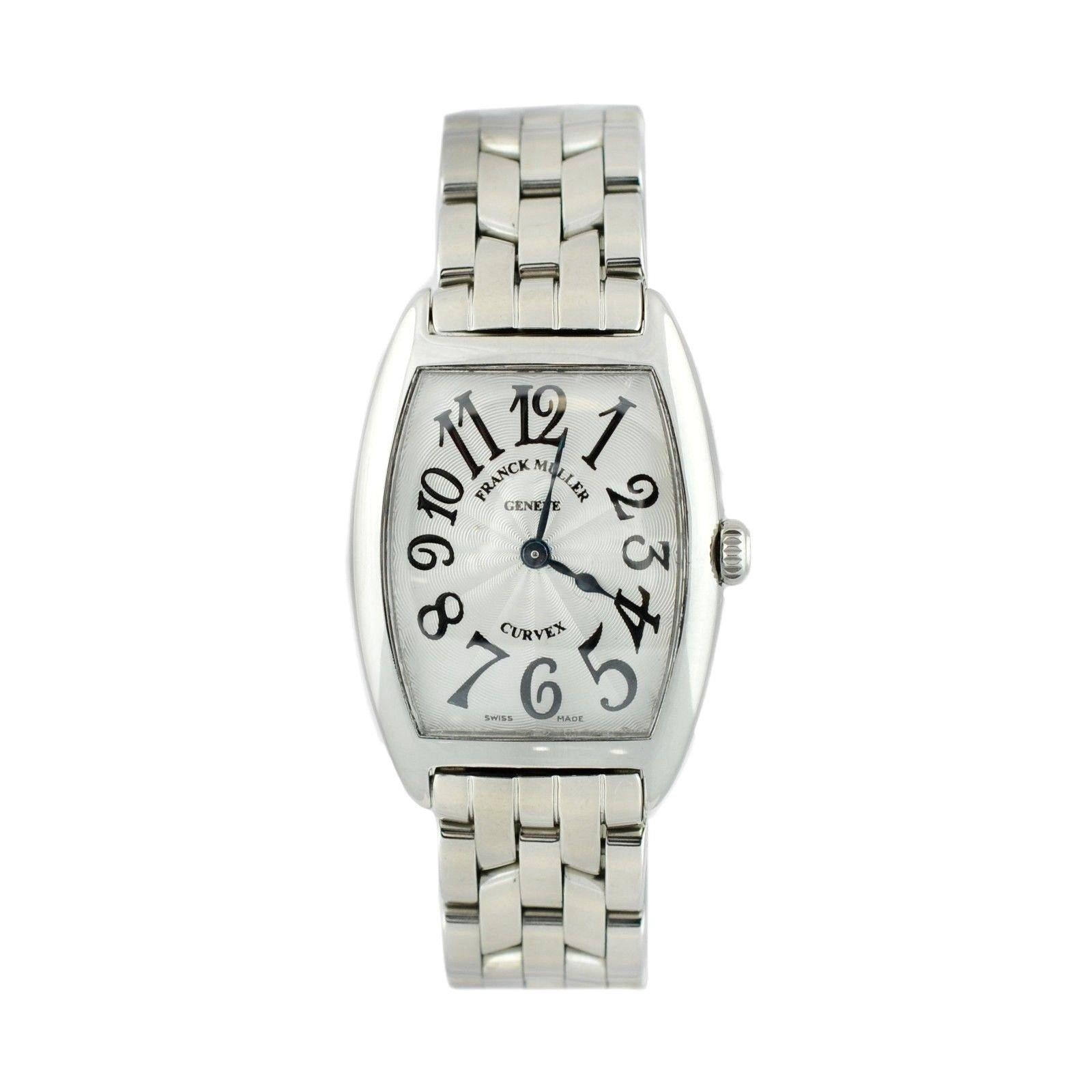 Franck Muller Curvex analog-quartz womens Watch 1752 QZ (Certified Pre-owned)