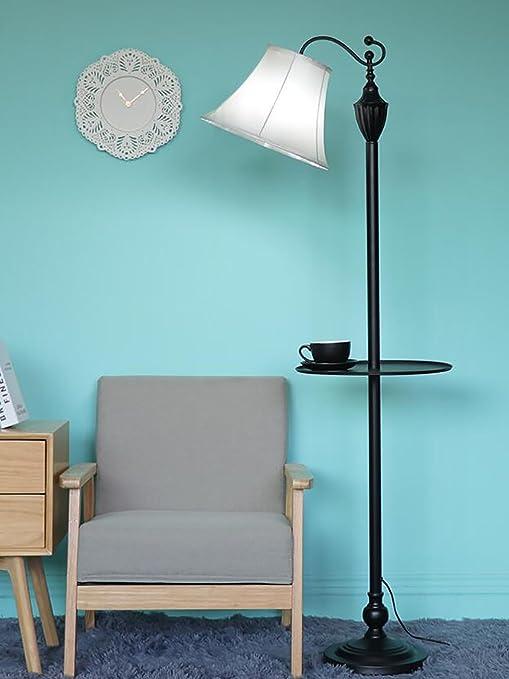 Fafz Lampes De Chevet Lampadaire Salon Simple Europeen En Fer Forge