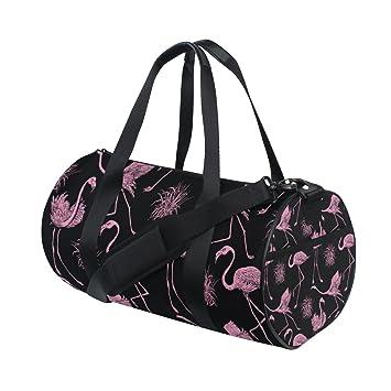 17 Inch Flamingo Duffle Bag