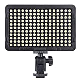 Andoer 176 Pcs LEDs Portable Video Studio Photography Light Panel 5600K for Cannon Nikon Pentax Olympus Camcorder DSLR Camera