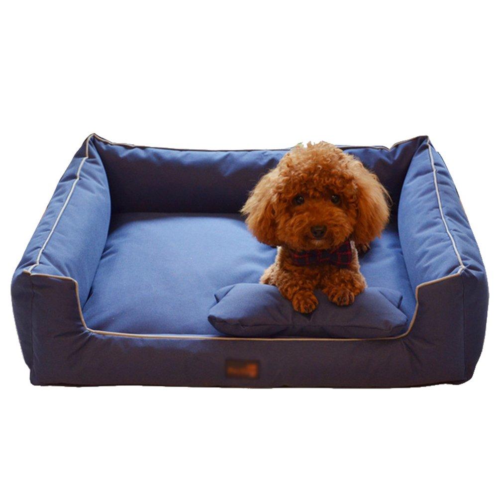 LvRao Cuccia per Cani Gatto Camo Cuscino Rettangolare Lavabile Letto per Animali Domestici (Camo Pink, S: 50*46*16CM)