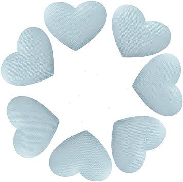 Azzurro 200x Cuore Fiore Petalo Decorazione Tabella Coriandoli Di Fidanzamento Di Nozze Party