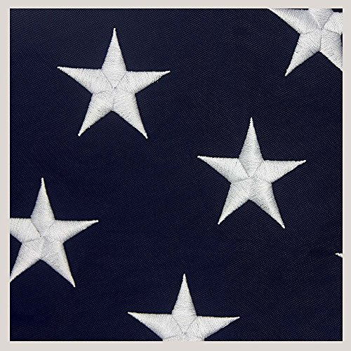Hanging American Flag (VSVO American Flag 3x5 ft –Heavyweight Oxford Nylon Built for Outdoor Use, UV Protected and Featuring Embroider Stars and Sewn Stripes and Brass Grommets.)
