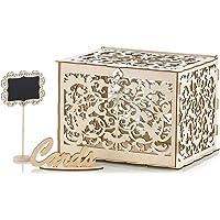 Nuptio Caja para Tarjetas De Boda DIY Caja