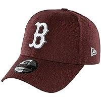 New Era Seasonal Heather 940 Bosred Hmrwhi Beyzbol Şapkası, Kırmızı, Tek Ebat