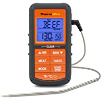 ThermoPro TP06S Digital Grill Meat Thermometer with Probe for Smoker Grilling Food BBQ Thermometer