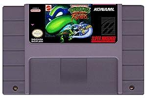 Teenage Mutant Ninja Turtles (TMNT) Tournament Fighters - (Super Nintendo, SNES) Reproduction Cartridge