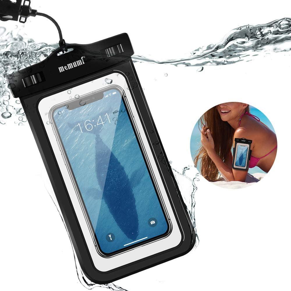memumi Funda IPX8 Impermeable para Teléfono Movil