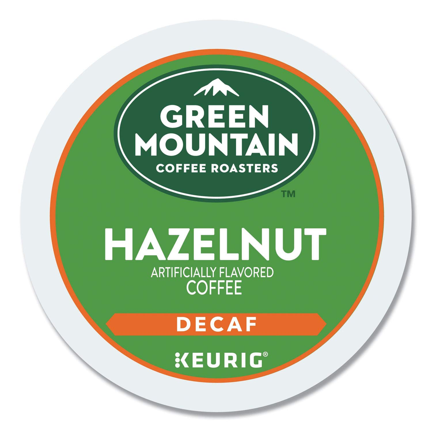 Green Mountain Coffee Hazelnut Decaf, Light Roasted, K-Cup Portion Pack for Keurig K-Cup Brewers, 24-Count
