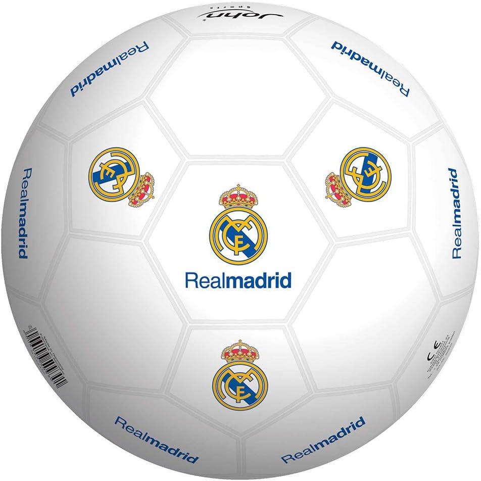 Real Madrid Balon 23 cm de plástico Duro (Smoby 50929): Amazon.es: Juguetes y juegos
