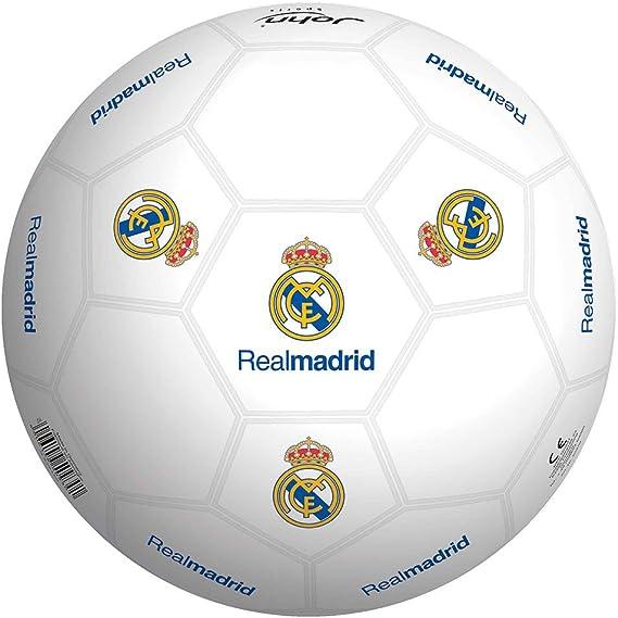 Real Madrid Balon 23 cm de plástico Duro (Smoby 50929): Amazon.es ...