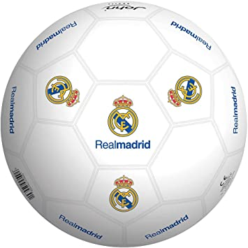 Real Madrid Balon 23 cm de plástico Duro (Smoby 50929): Amazon.es ...