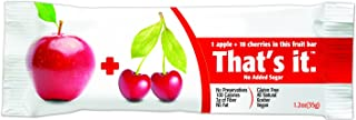 product image for That's It Apple Cherry Snack Bar Gluten Free 1.2 oz, Pack of 144