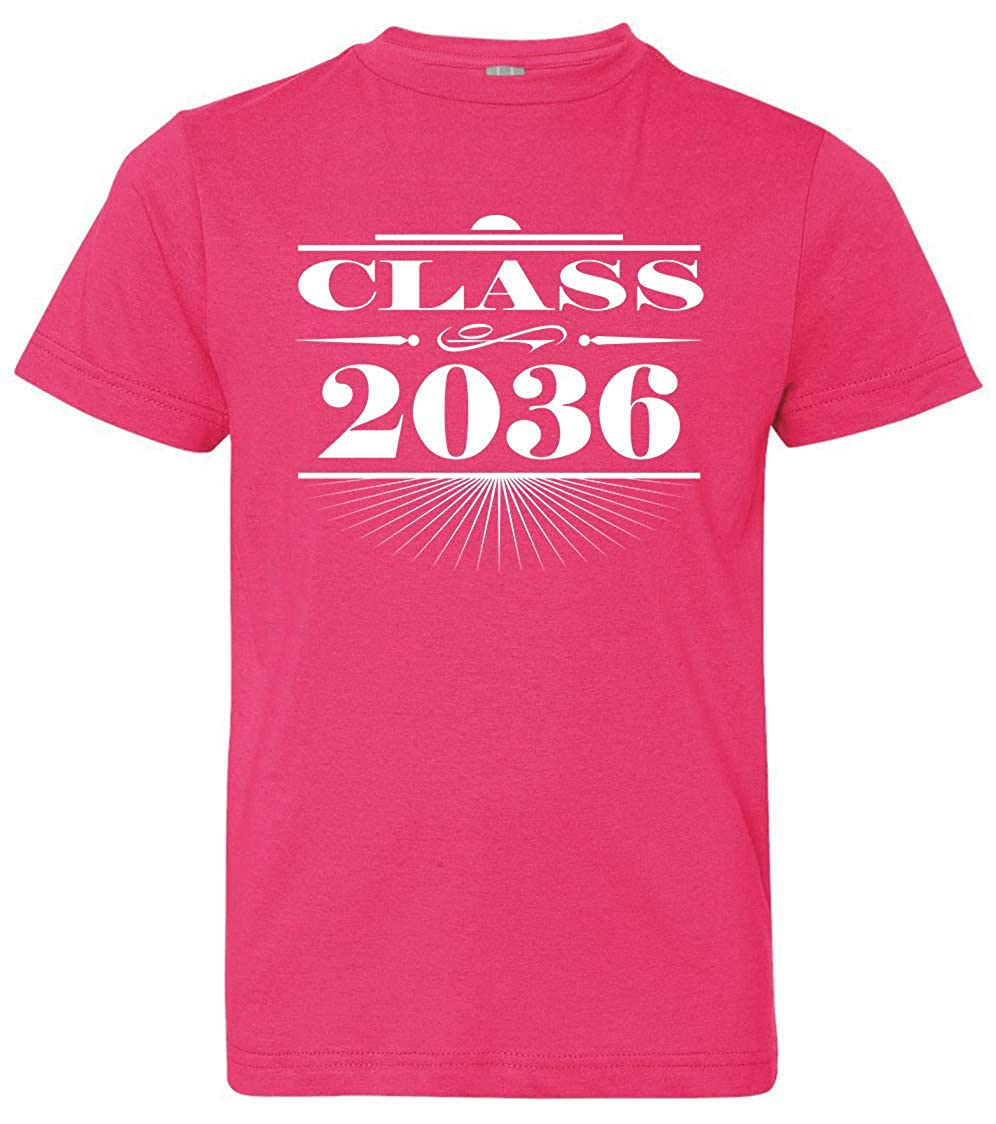 Tenacitee Boys Youth Art Deco Class of 2036 T-Shirt