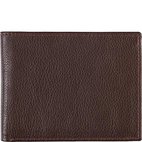 Johnston & Murphy Slimfold Wallet (Brown/Burgundy)