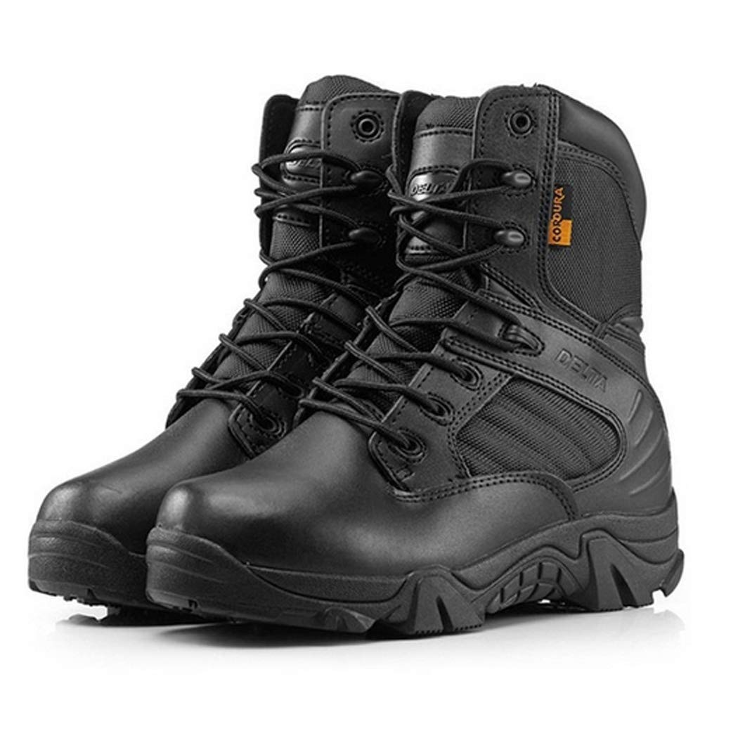 643a6a1d167 Amazon.com | MKLL Delta Military Tactical Boots Leather Desert ...