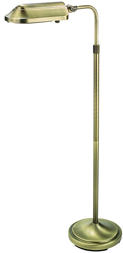 Verilux vf03ff5 heritage deluxe natural spectrum floor lamp classic all metal design 53