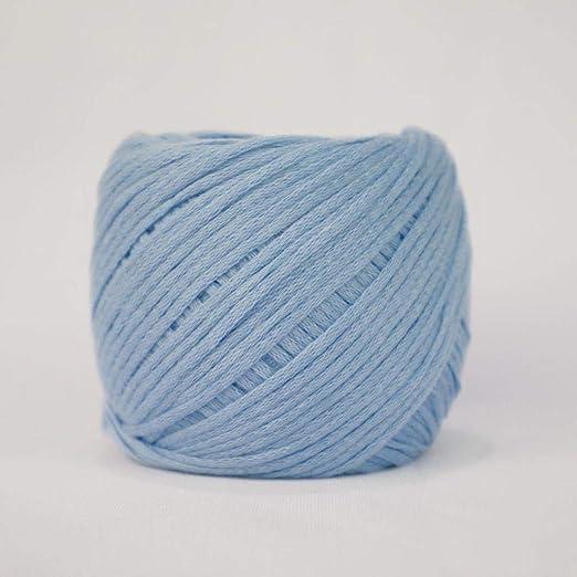 Hilo de algodón de lana gruesa hilo de aguja de bebé hilo azul ...