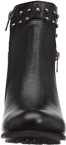 Harley Davidson Womens Wexford Boot Leather Booties High Chunky Heel 7.5-9