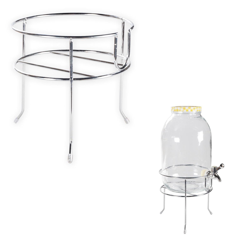 382) Getränkespender Dispenser Behälter Glas Saftspender 3,0 Liter ...