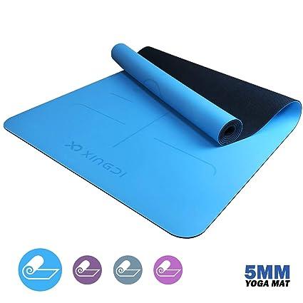 Xingdi - Esterilla de Yoga (Caucho Natural), Color Azul ...