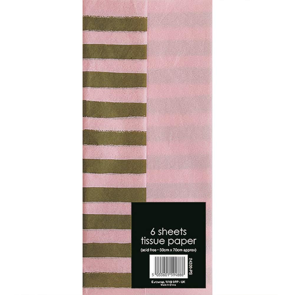 """25x Pink Acid Free Tissue Wrapping Paper Sheets 18x28/"""""""