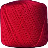 Crochet Thread - Size 10 - Color 12 - RED