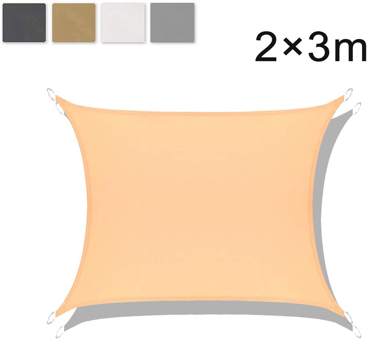 LOVE STORY Toldo Vela de Sombra Impermeable(PES) Rectangular 2×3m