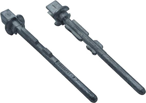 Bross bdp41 2 piezas Trasera deslizante tirador de puerta bloqueo Pin para Peugeot Partner, Citroen Berlingo: Amazon.es: Coche y moto