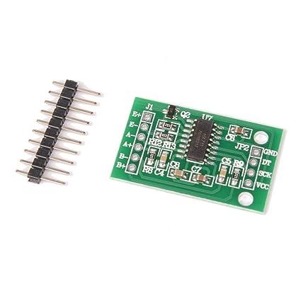 HAPPY-DZ práctico hx711 Peso celda de Carga pesaje Módulo de conversión AD sensores para