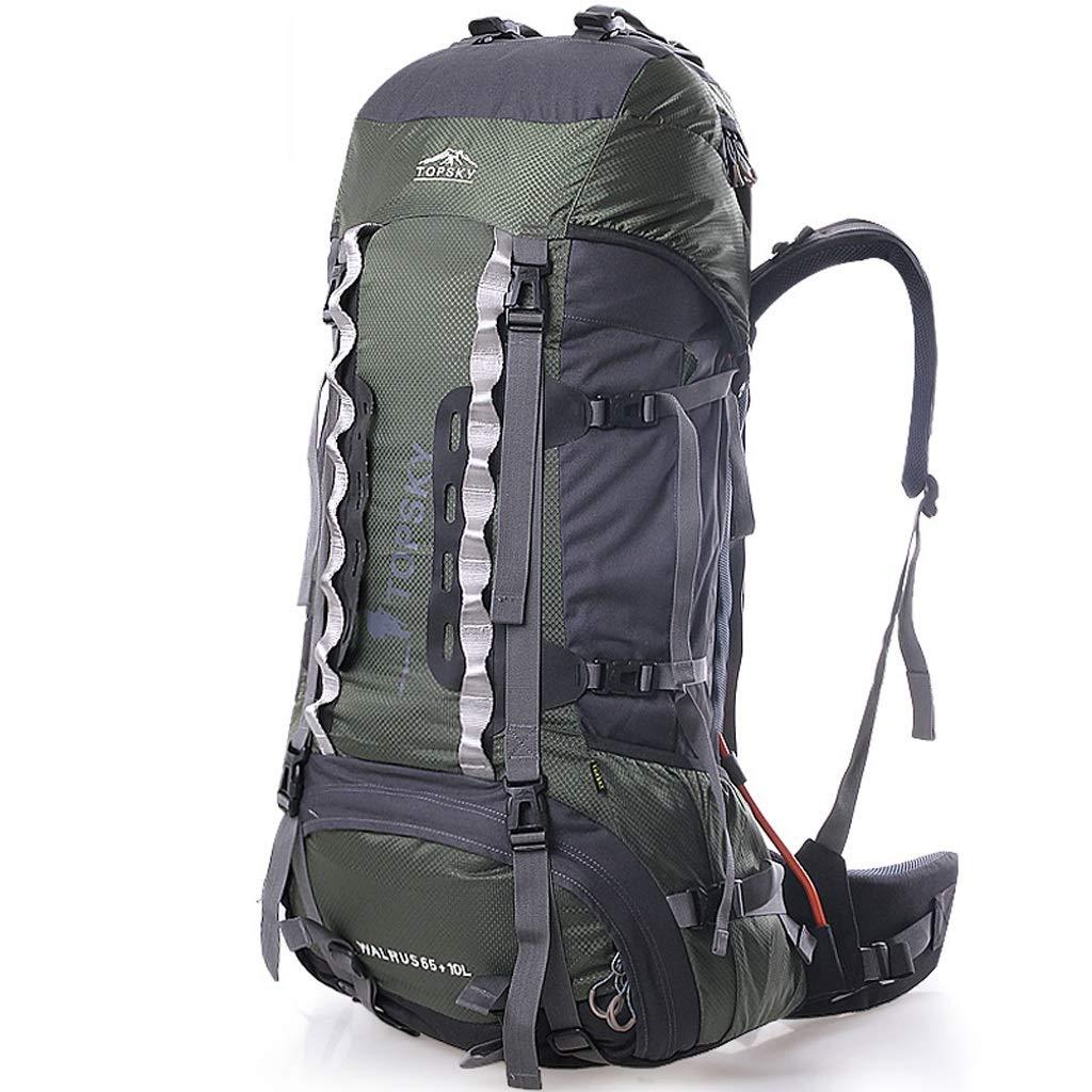 JSSFQK 男女兼用75L旅行バックパックハイキング登山バックパック アウトドアバックパック   B07MQQR8L3